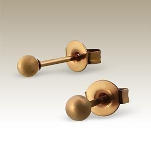 Absolut4u korvakorut kula matt bronze 3 mm
