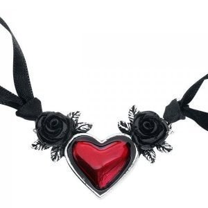 Alchemy Gothic Blood Heart Kaulakoru