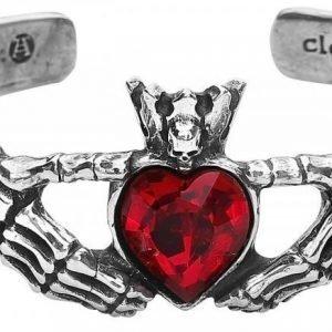 Alchemy Gothic Claddagh Bracelet Rannekoru