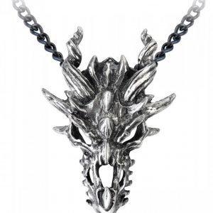 Alchemy Gothic Dragon Skull Kaulakoru