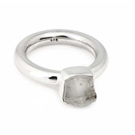 Annica Vallin Kensington Sormus Vuorikristalli Large 18 mm