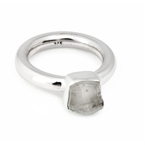 Annica Vallin Kensington Sormus Vuorikristalli Small 16