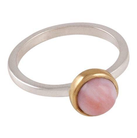 Annica Vallin Lavendel Sormus Vaaleanpunainen Opaali 19 mm