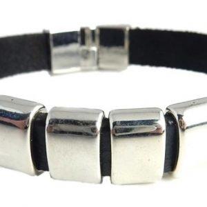 Armband äkta läder Swejuwel