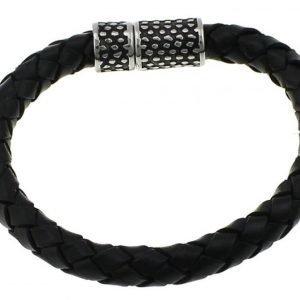 Armband 22.2cm äkta läder Swejuwel