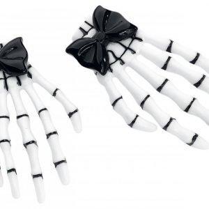 Banned Black Skeletal Hand Hiussolki
