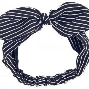 Banned Striped Bow Hiuspanta