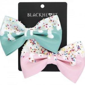 Blackheart Candy Bow Hiussolki