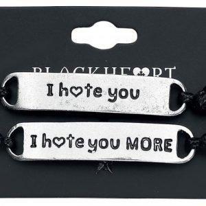 Blackheart I Hate You Rannekorusetti
