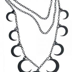 Blackheart Moon Necklace Kaulakoru