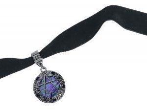 Blackheart Pentagram Choker Kaulakoru