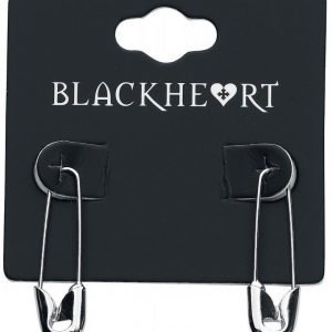 Blackheart Safety Pin Korvakoru
