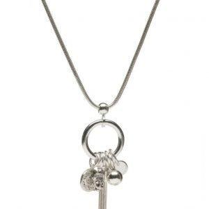 Bud to Rose Charm Long Necklace kaulakoru
