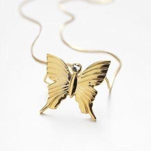 Carolina Gynning Butterfly Kaulakoru Mother S 18k Kulta