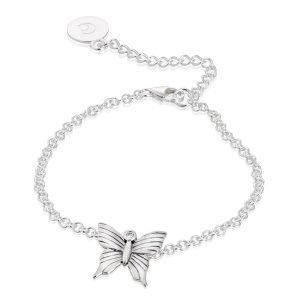 Carolina Gynning Butterfly Rannekoru Sterling Silver