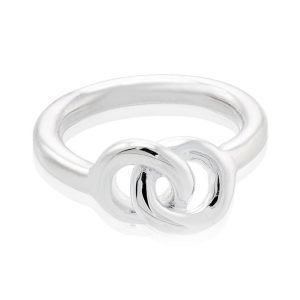 Carolina Gynning The Knot Sormus Sterling Hopea 15