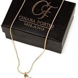 Chiara Forthi Guardian Angel Necklace Gold-coloured