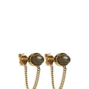 Cornelia Webb Charmed Labradorite Chain Earring korvakorut