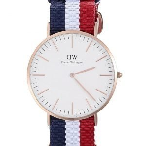 Daniel Wellington Cambridge Rose rannekello 40 mm