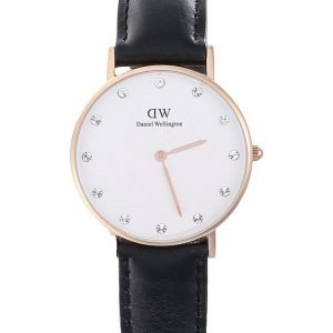 Daniel Wellington Classy Sheffield Rose rannekello 34 mm