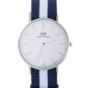Daniel Wellington Glasgow Silver kello 40 mm