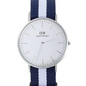 Daniel Wellington Glasgow Silver kello 40 mm