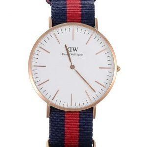 Daniel Wellington Oxford Rose rannekello 40 mm
