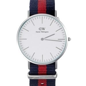 Daniel Wellington Oxford Silver rannekello 36 mm
