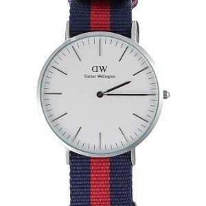 Daniel Wellington Oxford Silver rannekello 40 mm