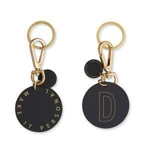 Design Letters Avaimenperä / Nimilappu D