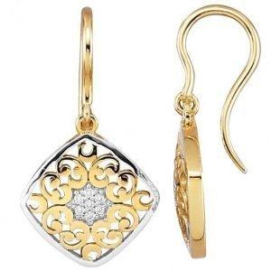 Diemer Diamant Korvakorut Keltainen