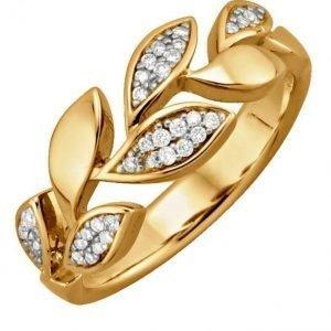 Diemer Diamant Naisten Sormus Keltainen