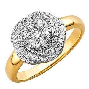 Diemer Diamant Naisten Sormus Valkoinen