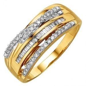 Diemer Diamant Naisten Timanttisormus Valkoinen