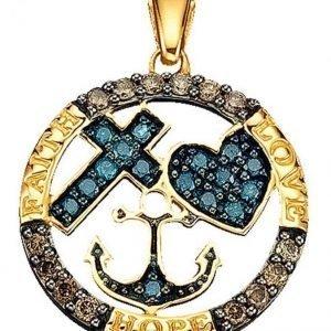 Diemer Diamant Riipus Monivärinen