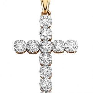 Diemer Diamant Ristiriipus Valkoinen