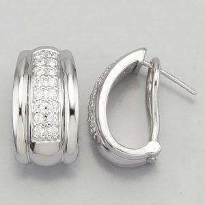 Diemer Diamant Saranalliset Korvakorut Valkoinen