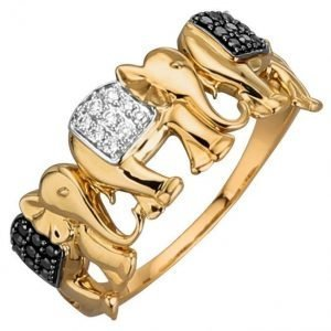 Diemer Diamant Sormus Keltainen