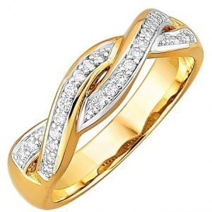 Diemer Diamant Sormus Valkoinen