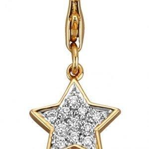 Diemer Diamant Tähtiriipus Valkoinen
