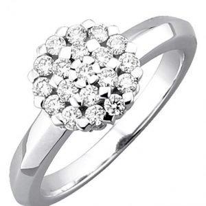 Diemer Diamant Timanttisormus Valkoinen