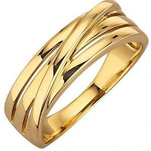 Diemer Gold Naisten Sormus Keltainen