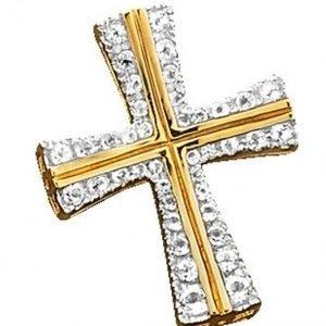 Diemer Gold Ristiriipus Valkoinen