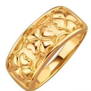 Diemer Gold Sormus Keltainen