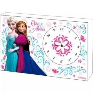 Disney Frozen Pöytäkello Puuta