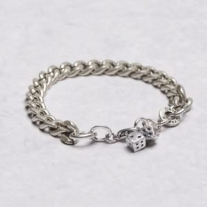 Double U Frenk Classic Iron Bracelet Dieces Iron