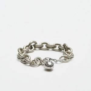 Double U Frenk Iron Special Chain Silver / Rudder