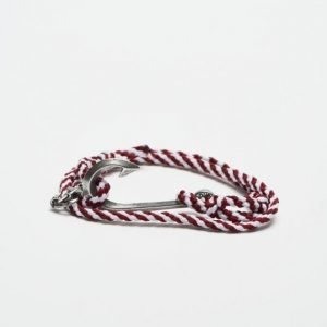 Double U Frenk Seaman Navy Bordeaux / Silver Hook
