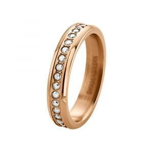 Dyrberg / Kern Esquire Ring Sormus Rose Gold Plated