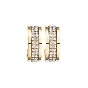 Dyrberg / Kern Kimmie Korvakoru Shiny Gold Crystal